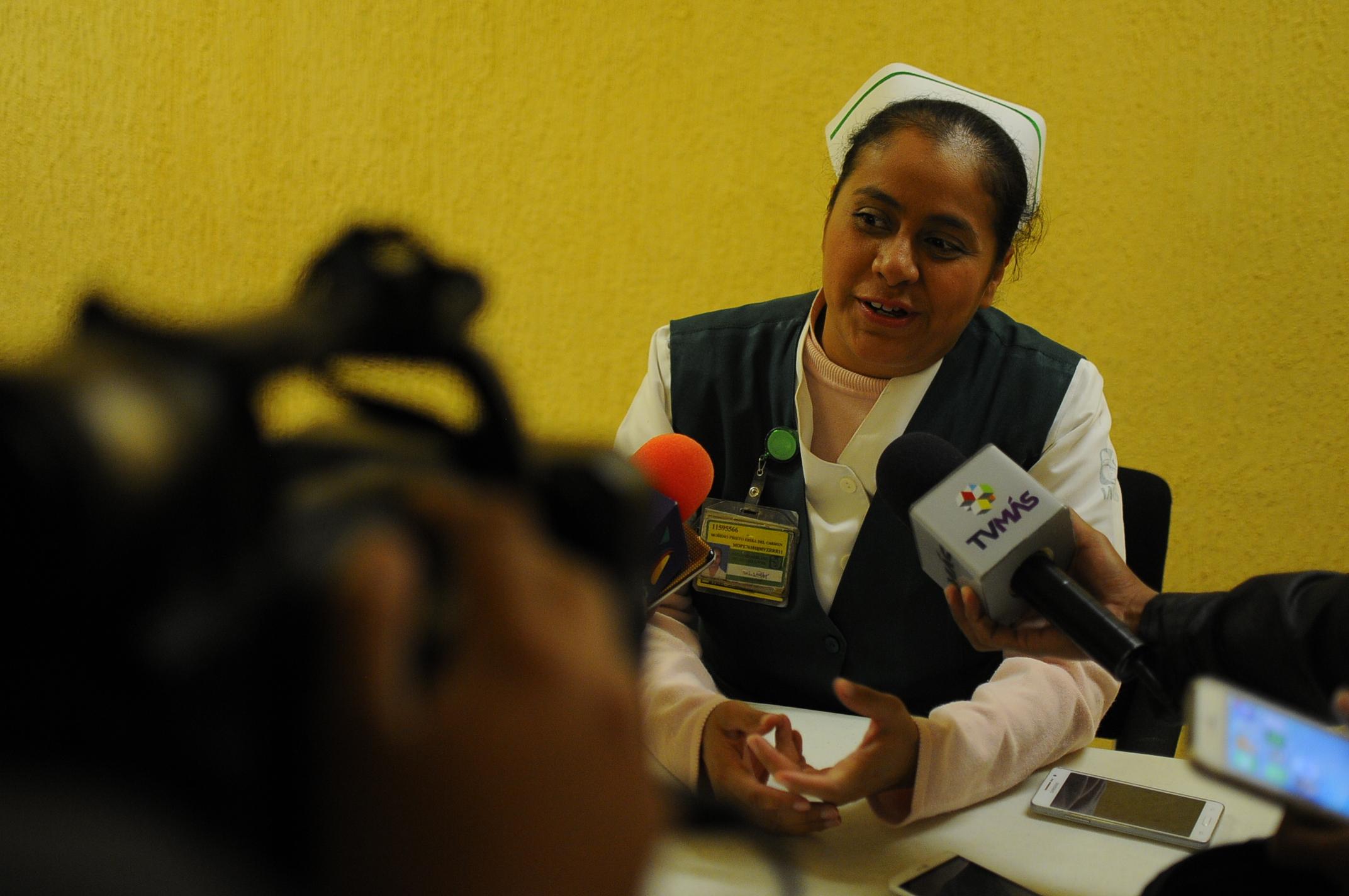Ni las balaceras distraen a enfermeros y enfermeras de su labor