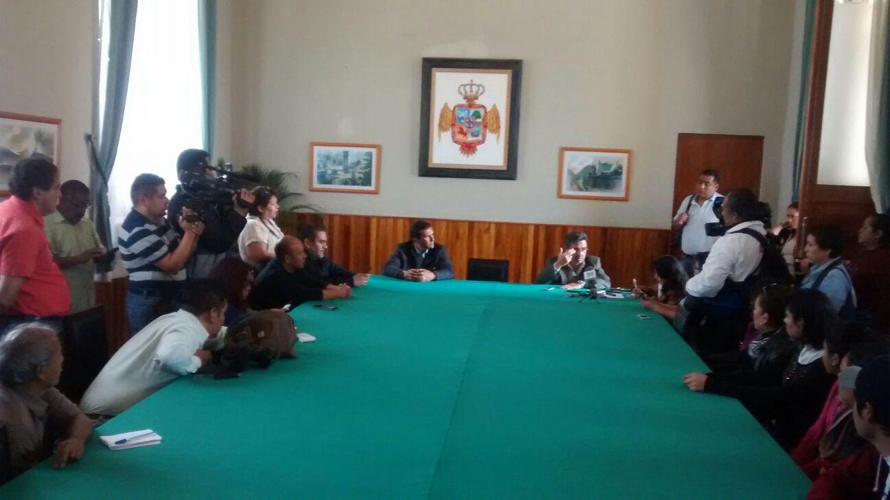 Reporteros de Orizaba demandan garantías en el ejercicio de su profesión