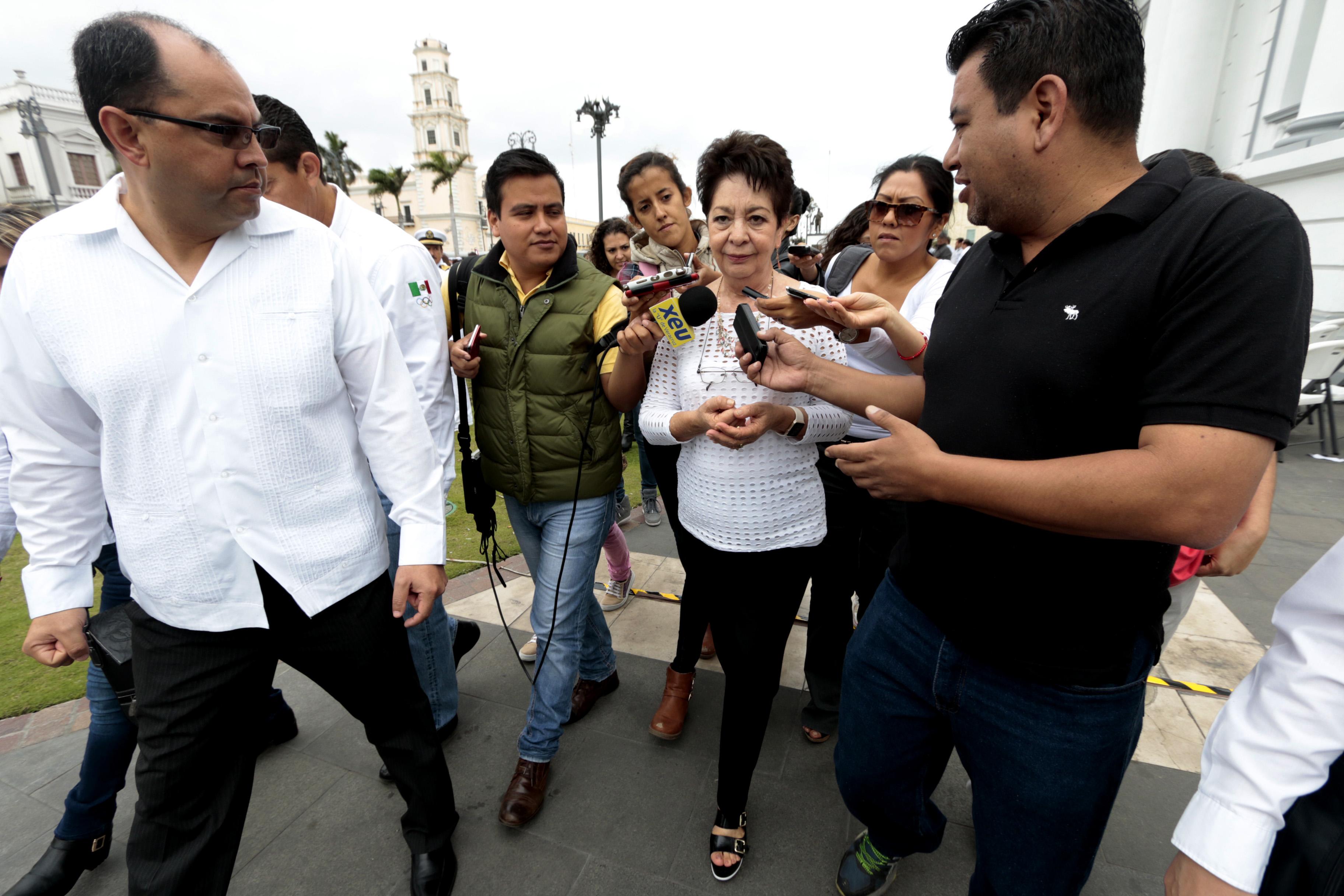 No habrá sanciones para maestros paristas: Xóchitl Osorio