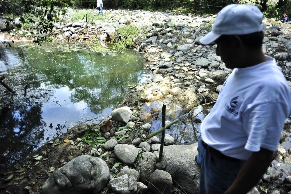 Socavón del río Atoyac fue por hundimiento no por falla geológica