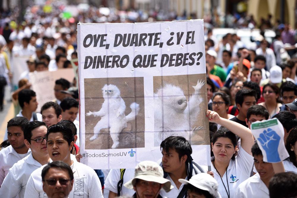 Javier Duarte no ha respondido al último llamado sobre pago de deuda