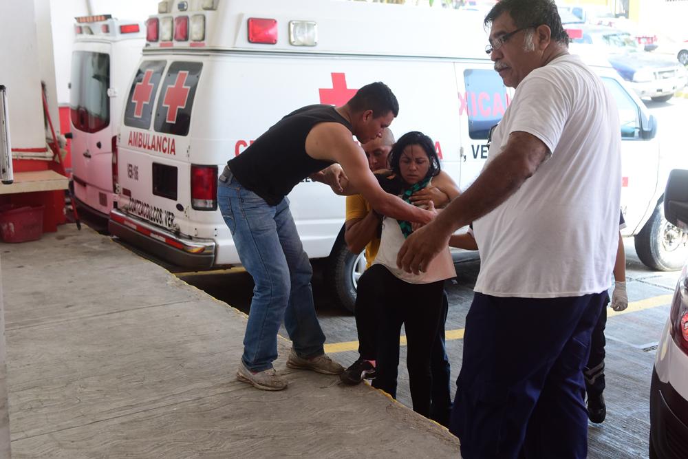 Asaltan a migrantes centroamericanos en Coatzacoalcos
