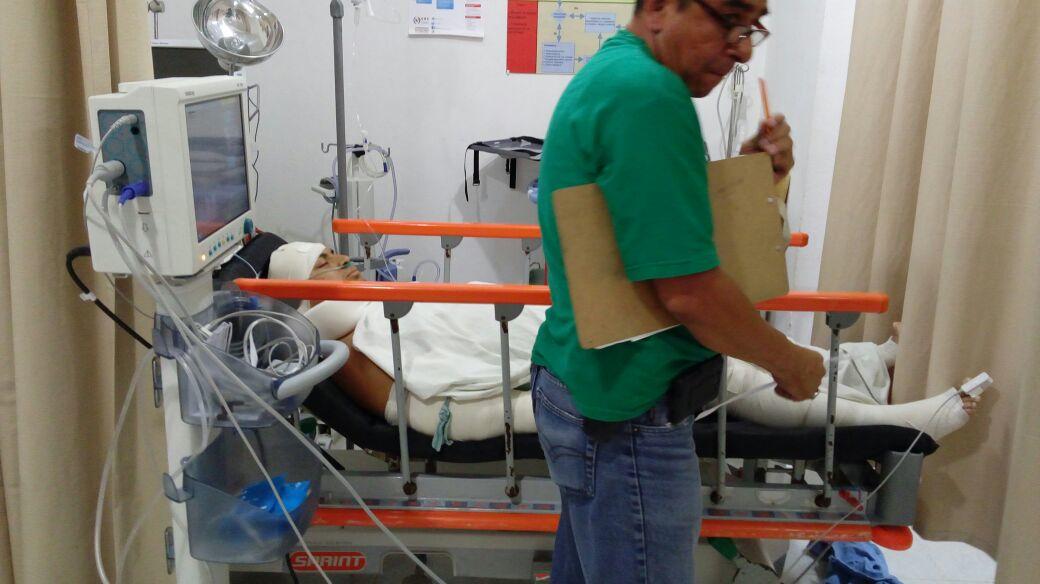Sufre violento asalto migrante Hondureño