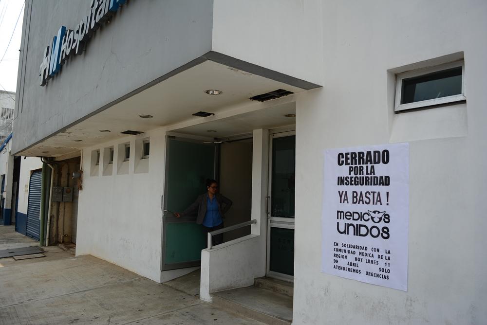 Médicos al sur de Veracruz en paro laboral por inseguridad