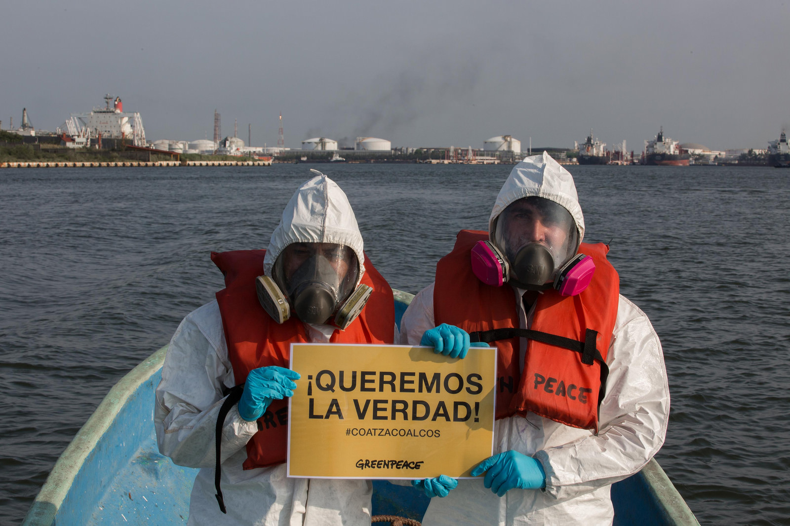 Greenpeace estudiará el agua y suelo en alrededores de Pajaritos