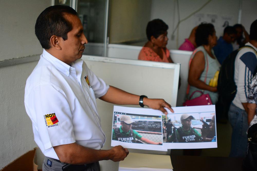 Periodista presenta queja por hostigamiento contra la Fuerza Civil