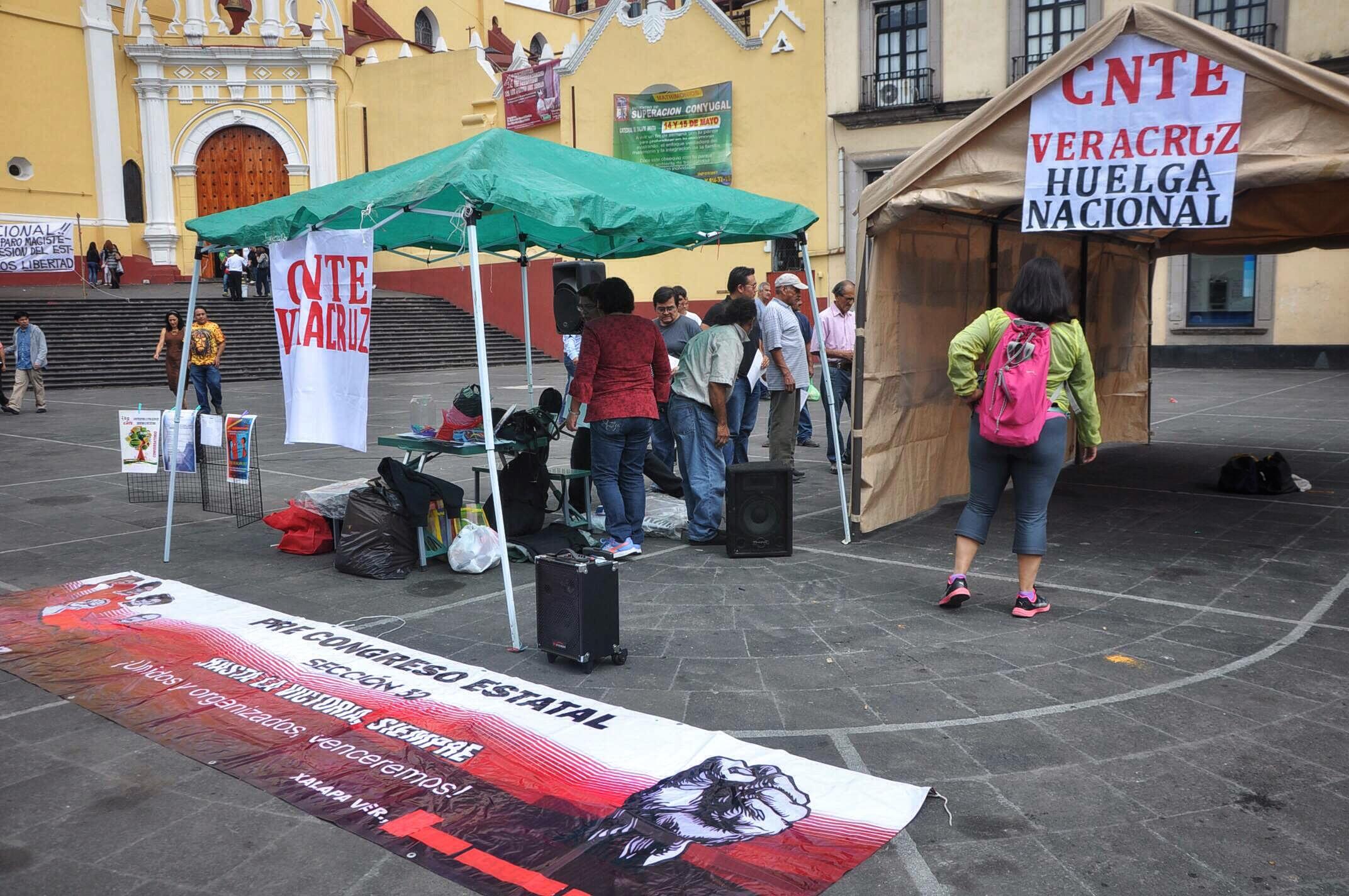 """Mentira"" que autoridades estatales respalden al magisterio: CNTE"
