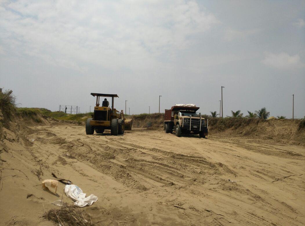 Continúa el saqueo de las dunas de Coatzacoalcos