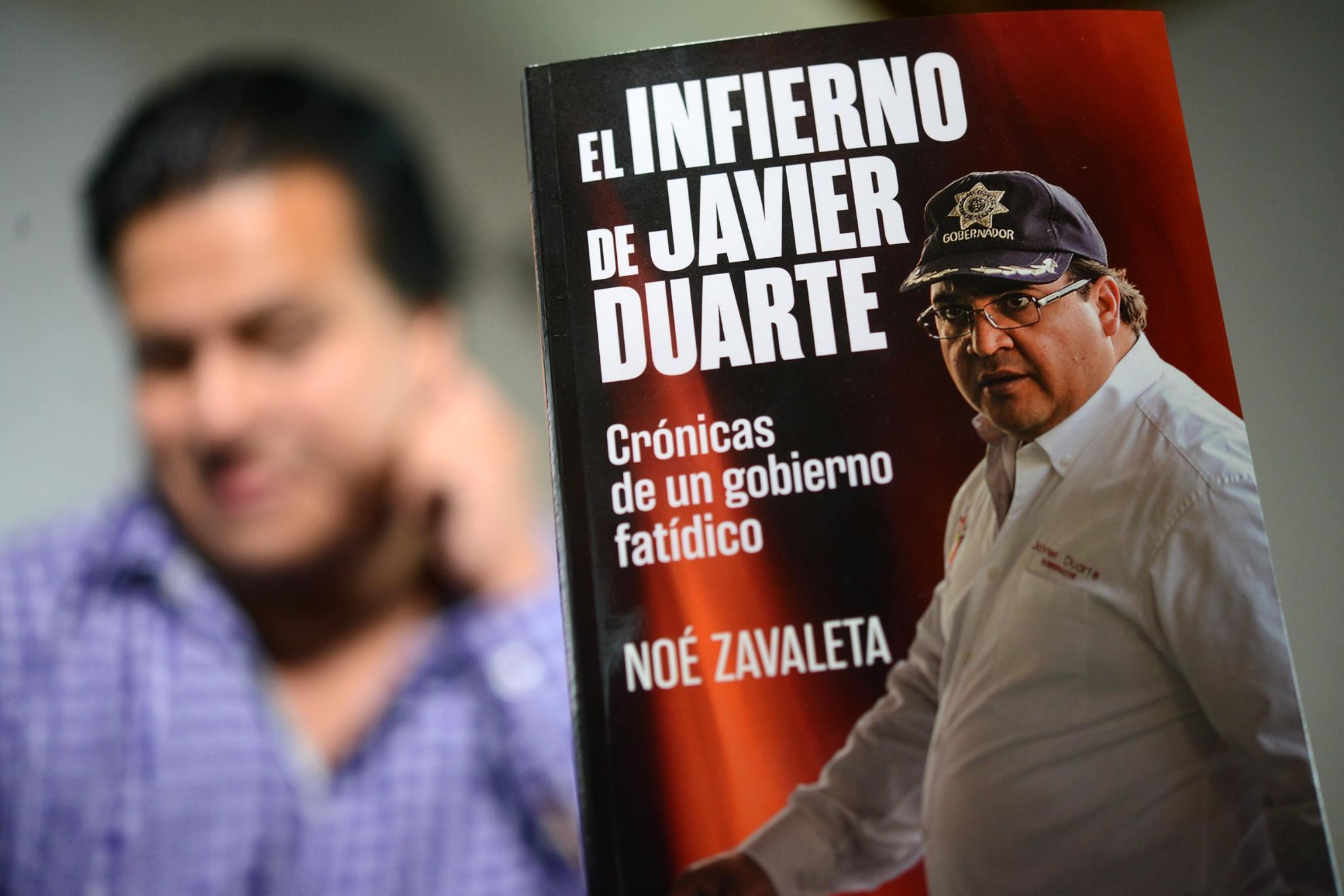 """""""Infierno de Javier Duarte"""" habla de un estado en descomposición"""