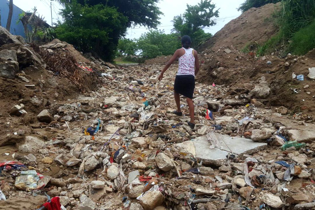 Advierten a xalapeños por deslaves y reblandecimiento de tierra