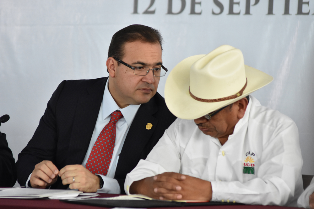 Campesinos rechazan que Gobierno del Estado maneje recursos del campo