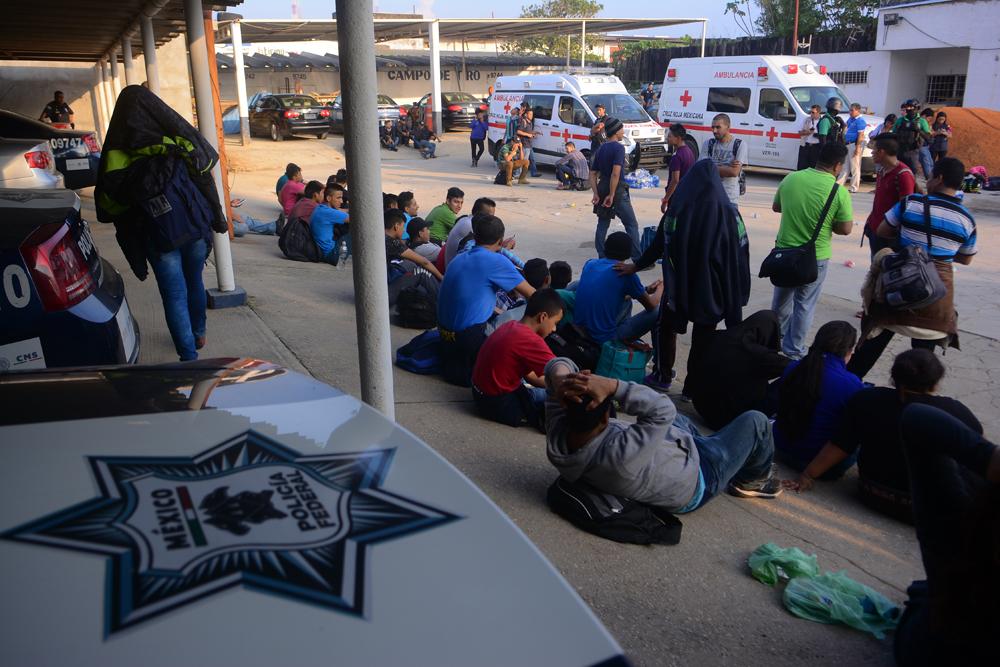 Cuatro migrantes ecuatorianos fueron rescatados en México