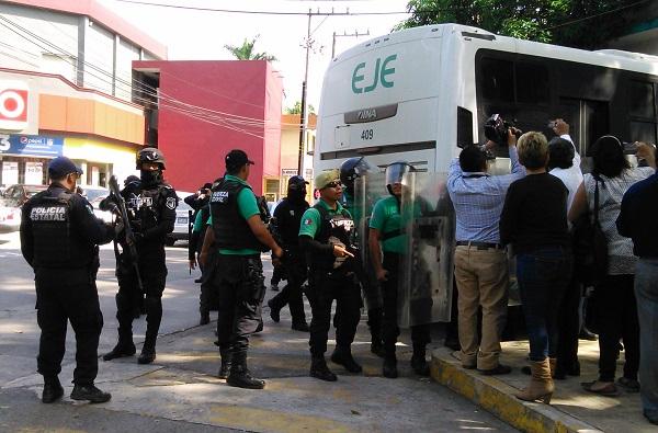 Ingresan al cereso Poza Rica a 35 presuntos secuestradores