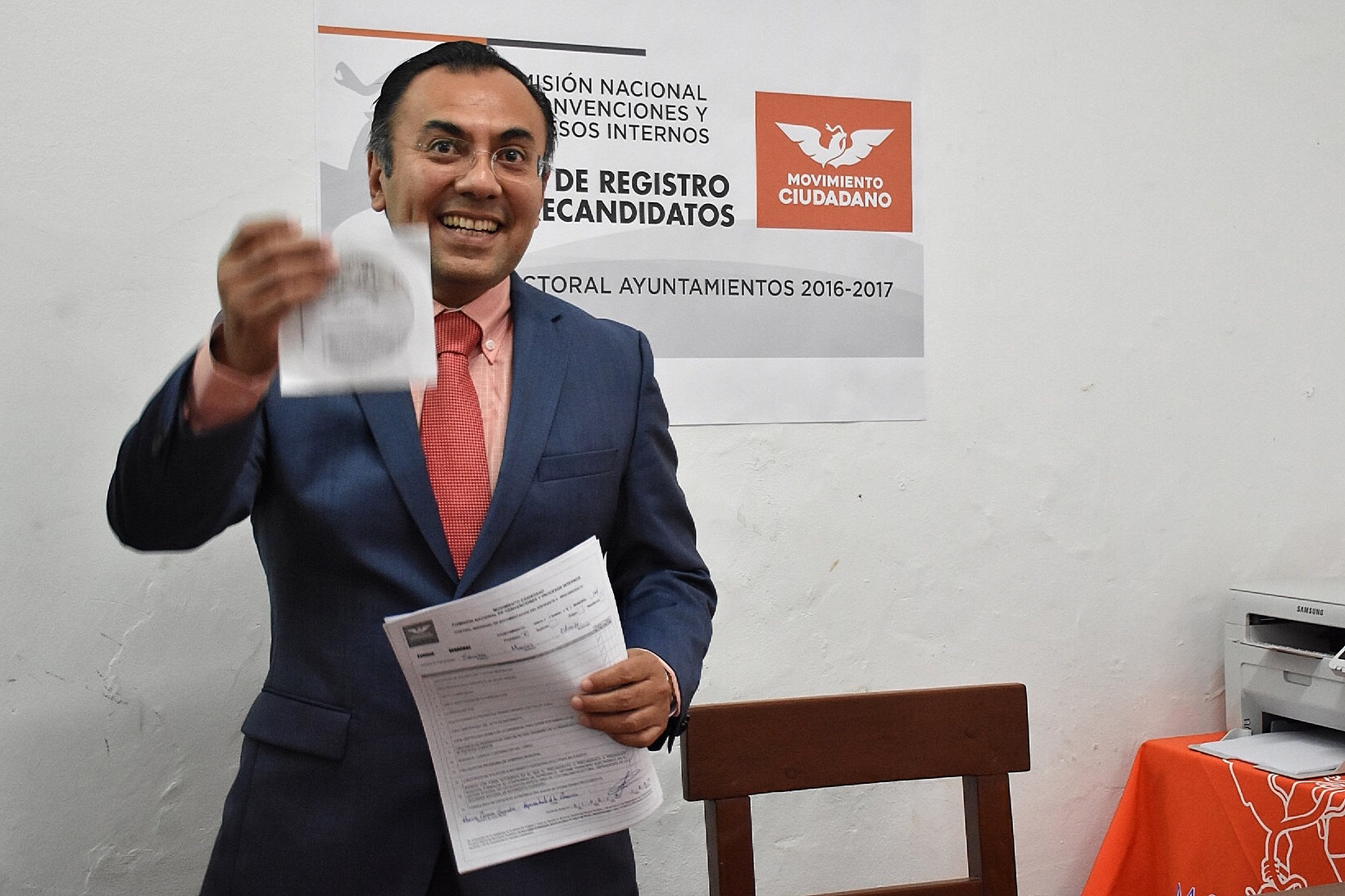 Denuncian a candidato de PVEM por golpear a su asesor de campaña