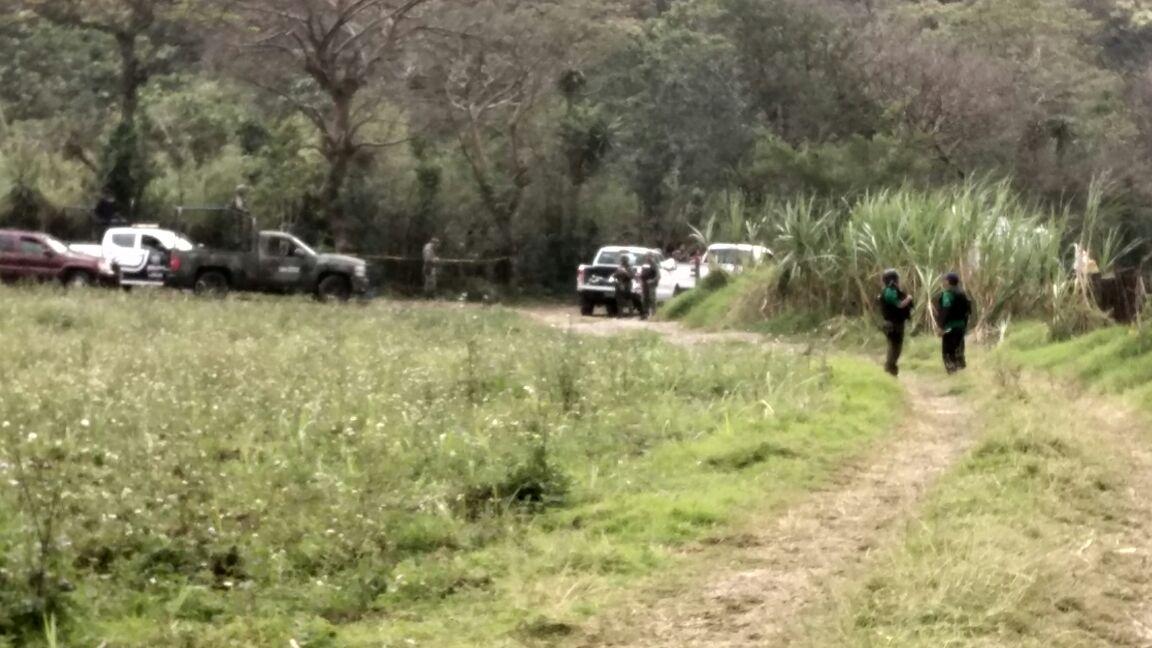 Operativo de búsqueda de fosas clandestinas en Ixtaczoquitlán