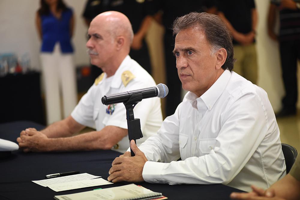 Yunes: cinco de las víctimas de Boca del Río con antecedentes penales