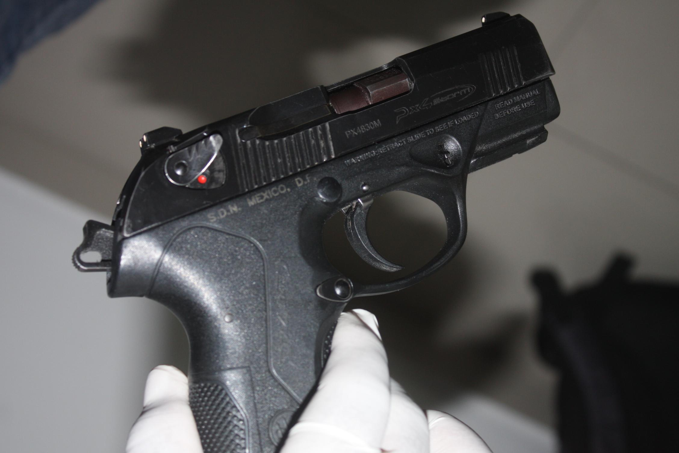 Aumentan 20 % solicitudes para portar armas de fuego