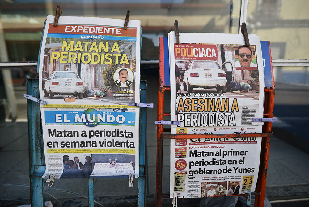 Yunes debe investigar y dar con culpables de asesinatos de periodistas