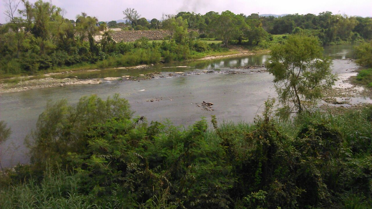 Se seca el río Cazones y se agudiza estiaje en Poza Rica