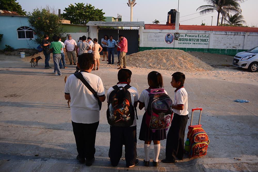 Modifican horarios en escuelas de la zona sur de Veracruz por inseguridad
