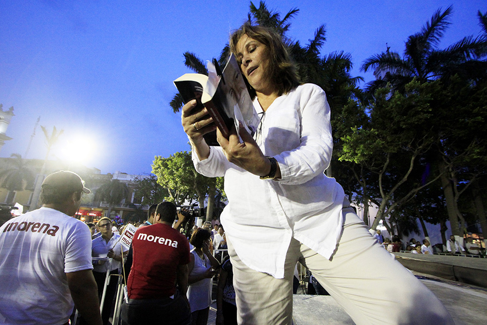 Rocío Nahle exige a Yunes dejar de culpar a Morena de problemas en Veracruz