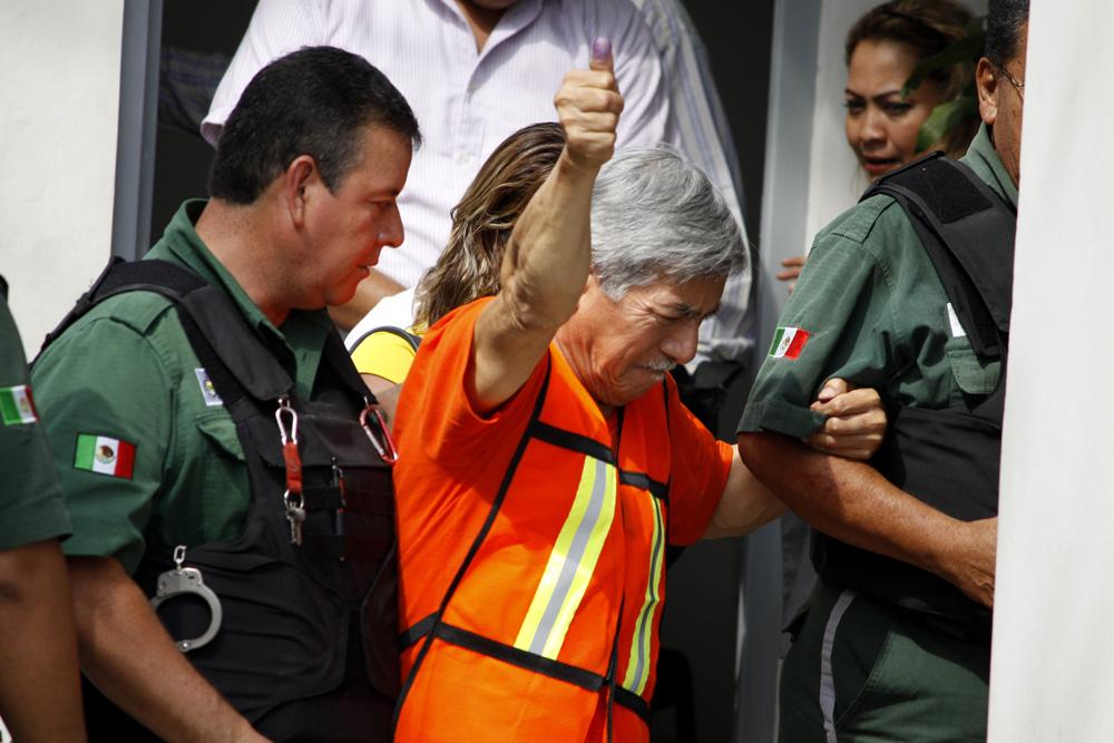 Borge lava los baños en penal de Panamá 12/Jun/2017 Nacional