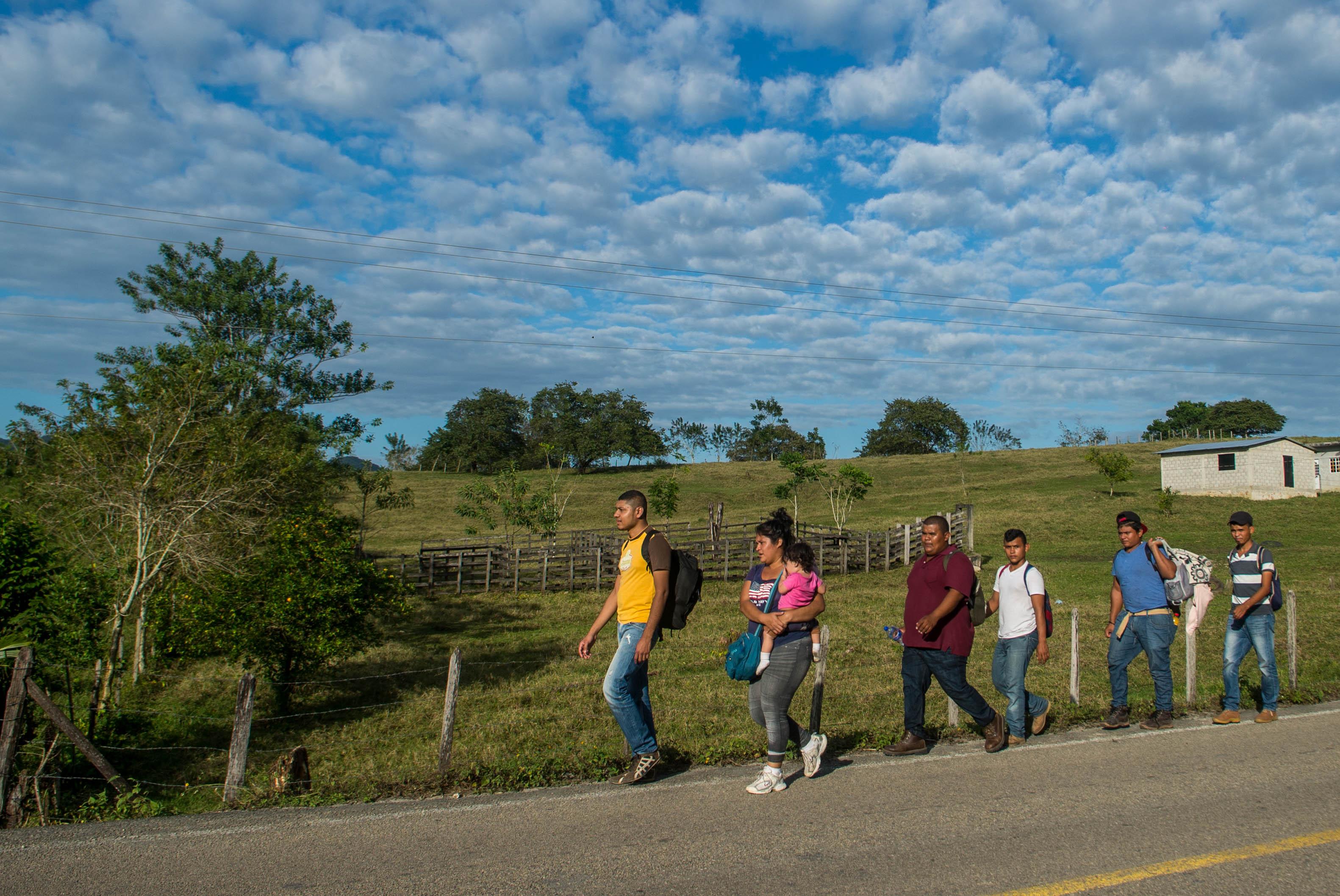 Repunta flujo migratorio en la zona sur de Veracruz