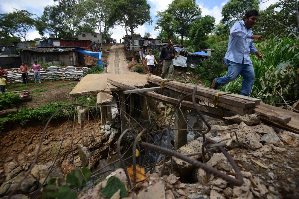 Riesgo de deslaves en 16 colonias irregulares en Xalapa