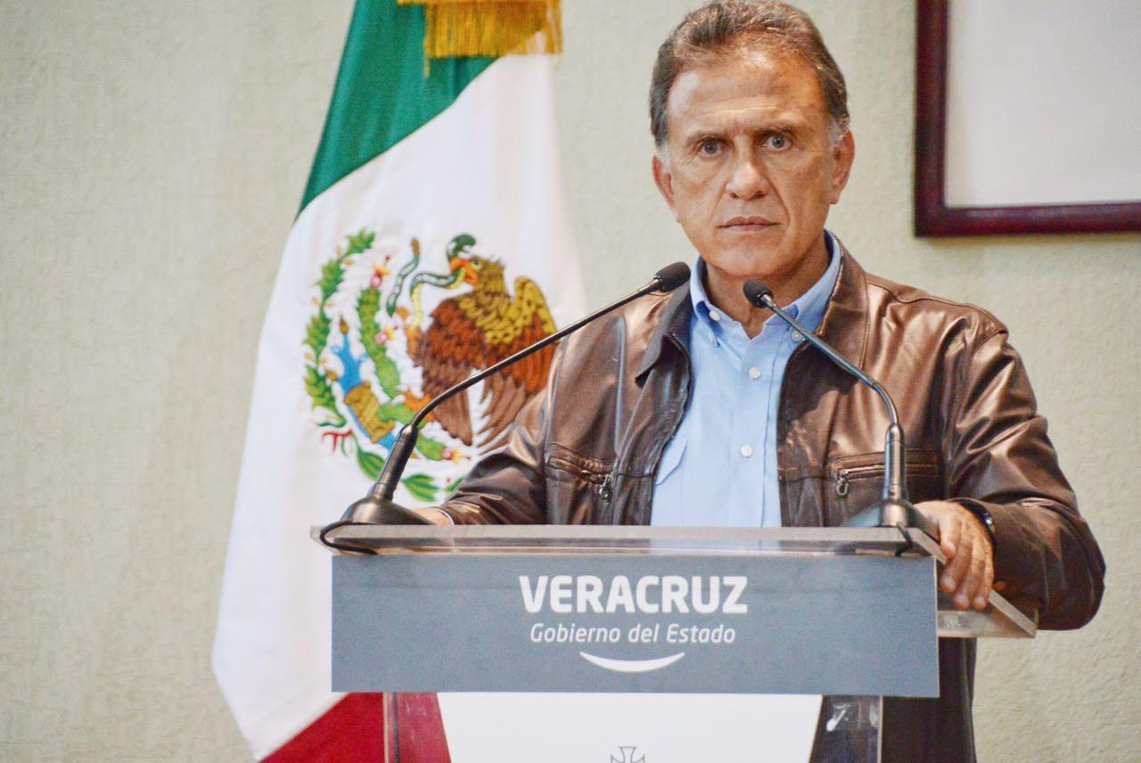 No hay riesgo de que Duarte sea liberado en México, asegura Yunes