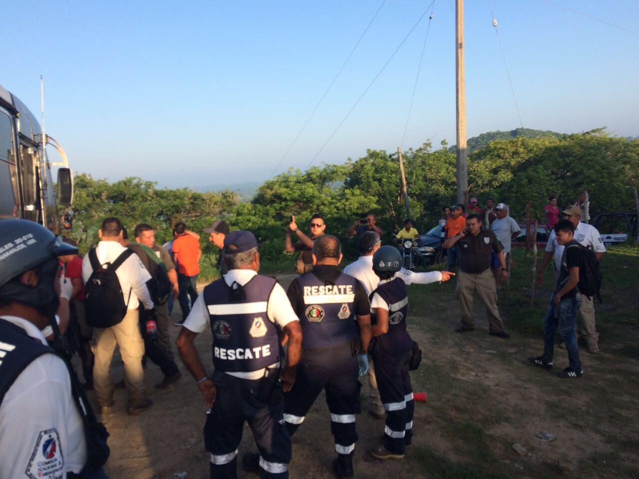 Migrantes abandonados en Veracruz venían de Villahermosa, Tabasco