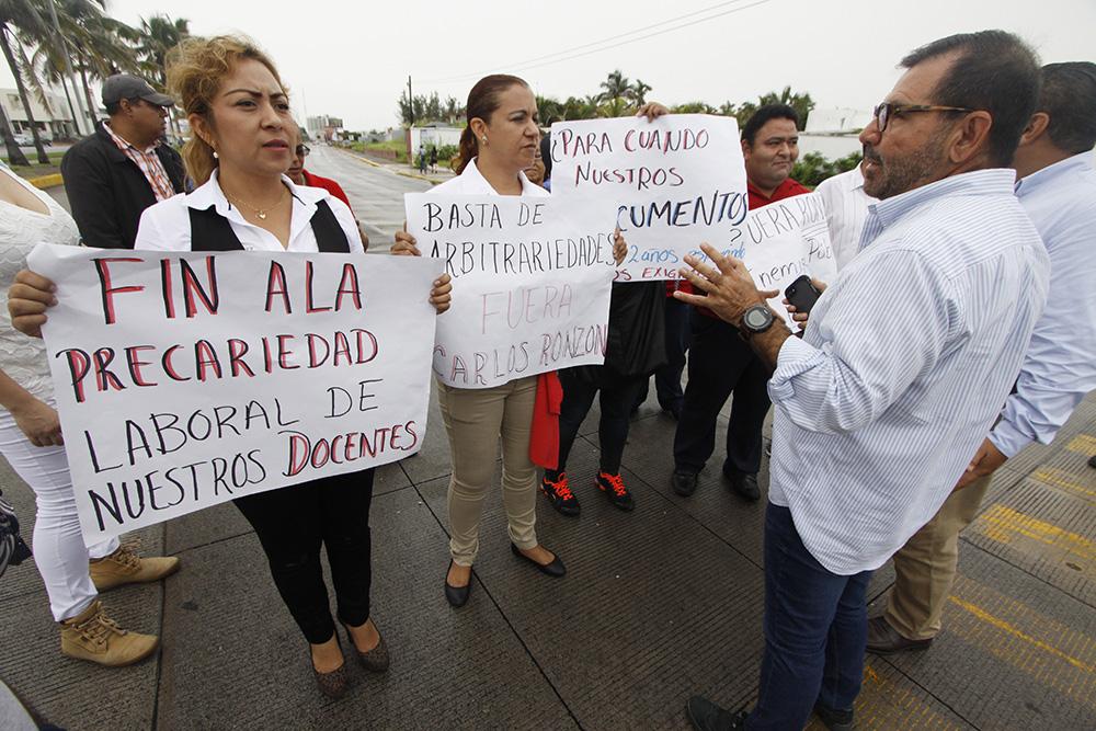 """Académicos aseguran que UPAV está """"en grave crisis"""", urge elección en rectoría"""