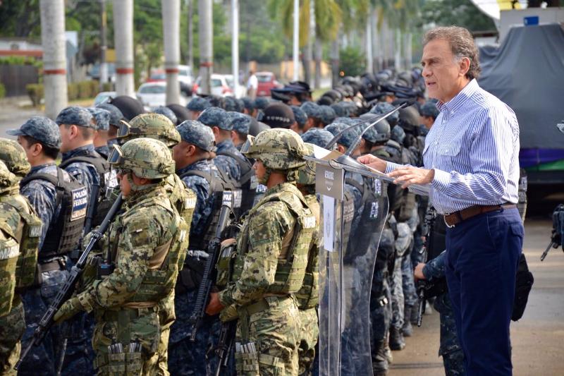 Sedena y Semar encabezan operativo de seguridad Tuxpan-Huasteca
