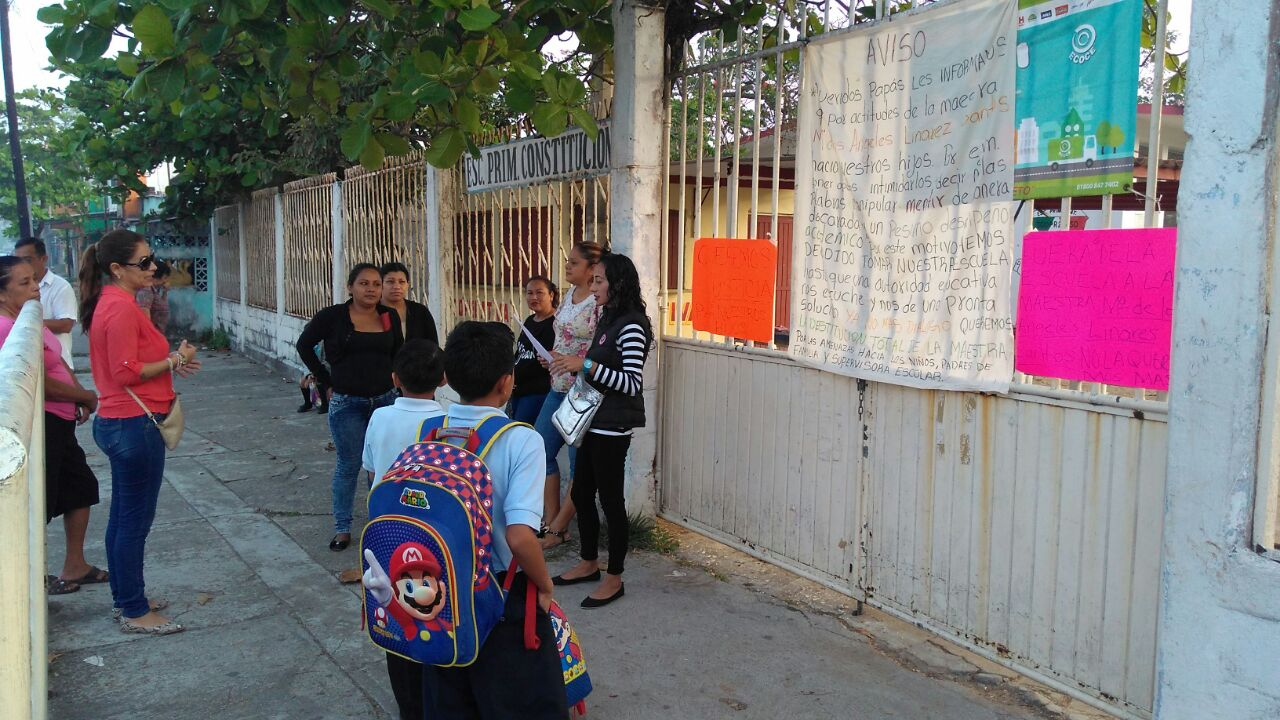Denuncia presunto caso de bullying en primaria de Coatzacoalcos