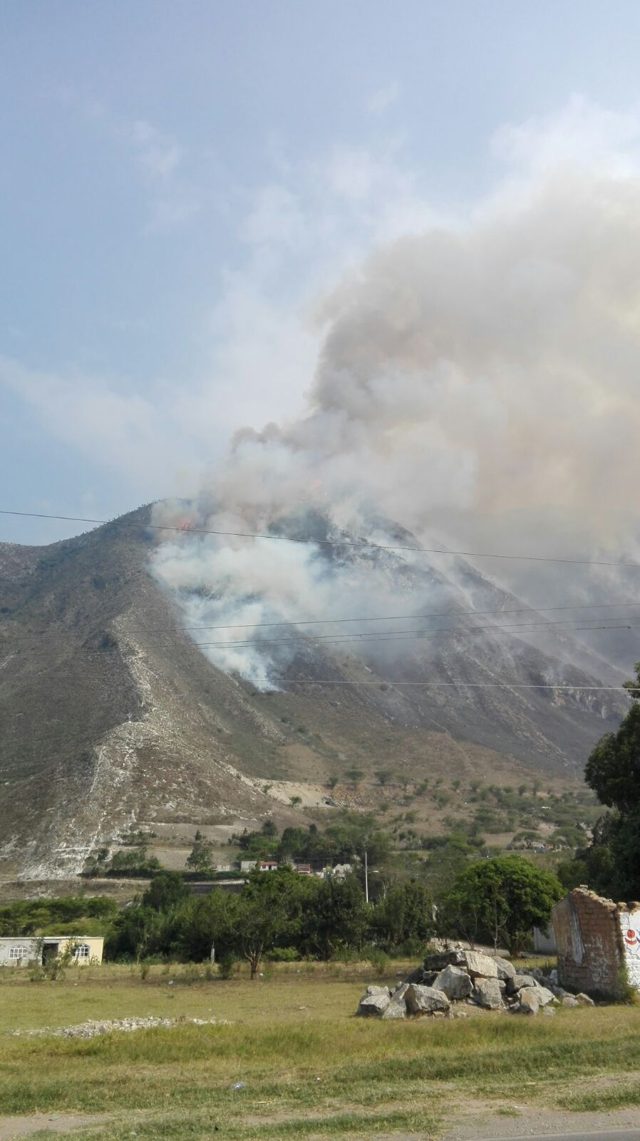 Veracruz registra 168 incendios forestales
