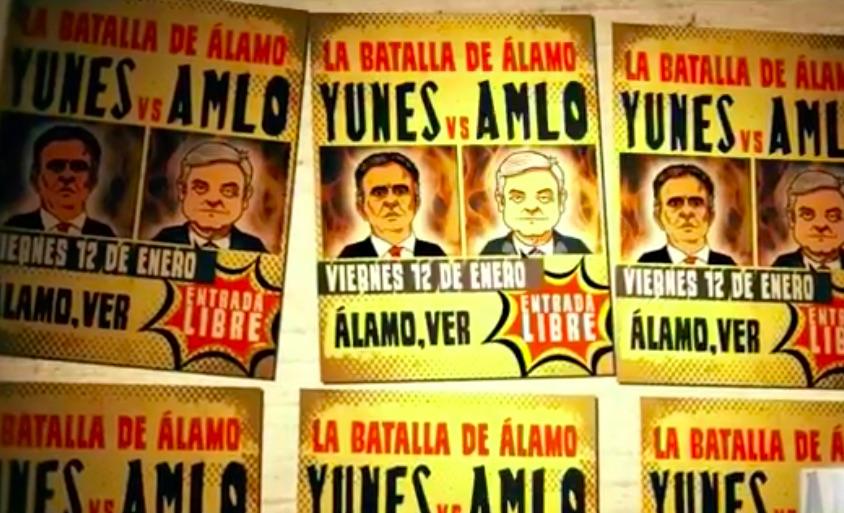 Yunes no tiene nivel para debatir, responde López Obrador