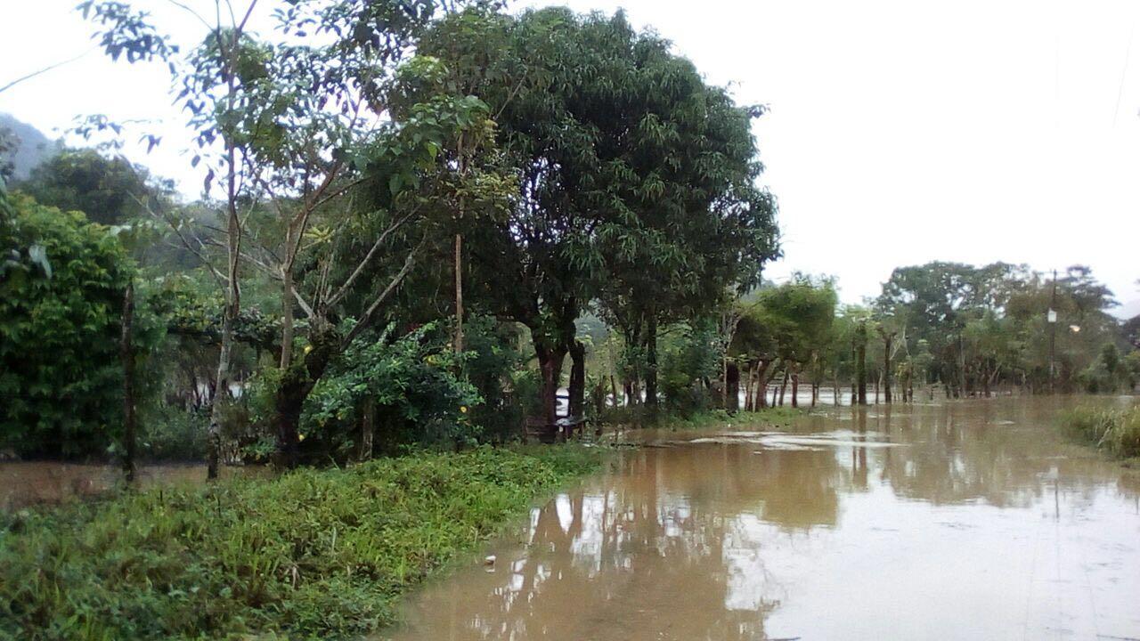 Inundadas al menos 20 comunidades de Las Choapas