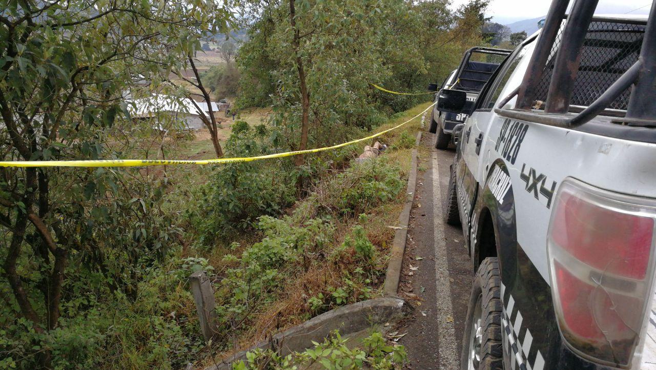Encuentran cadáver en la autopista Veracruz-Puebla