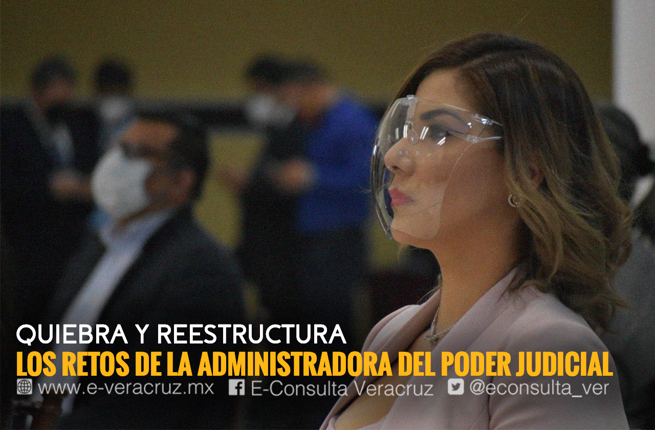 Joana Bautista, la mujer a cargo de la quiebra del Poder Judicial