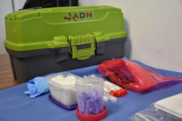 Poca afluencia en toma de muestra de ADN
