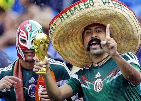 ¿Cuántos mexicanos invadirán Rusia este 2018?