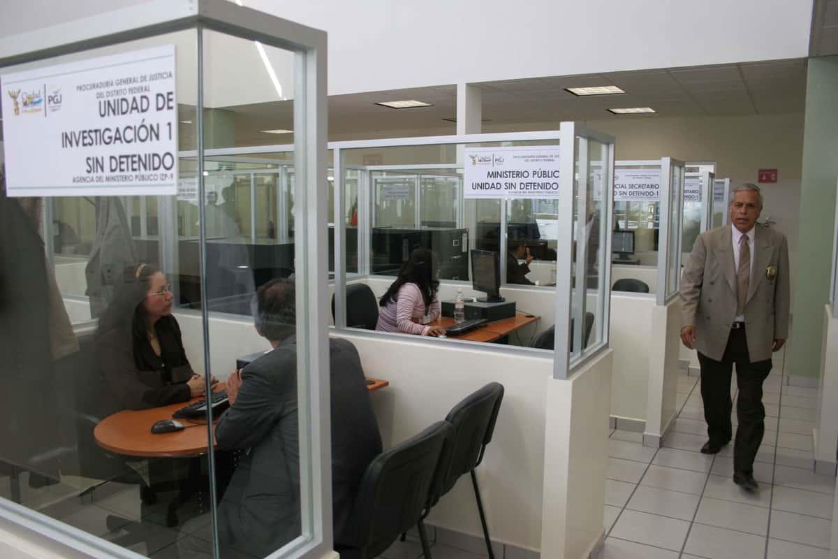 Ahuyentan denuncias en CDMX, Agencias del Ministerio Público