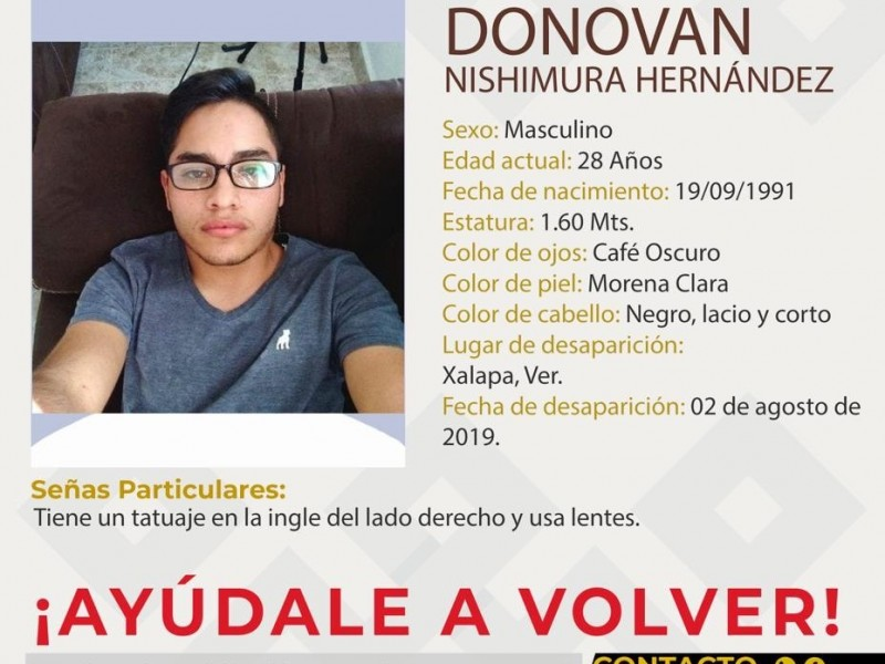 Buscan a Donovan, Agente de Tránsito desaparecido en Xalapa