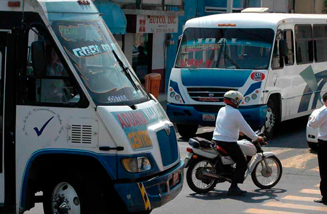 Agreden sexualmente a joven en camión urbano de Veracruz