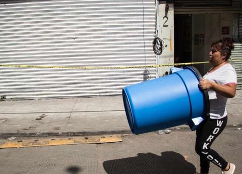 Mega corte de agua y las pérdidas de negocios
