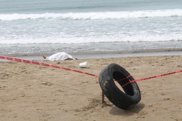 Fin de semana deja dos personas ahogadas en Veracruz