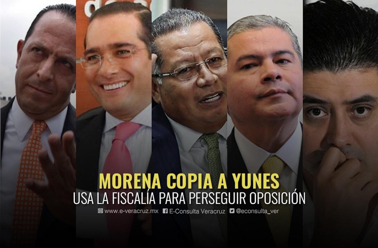 """Ahora acusan a Cuitláhuac de tener """"fiscalía carnala"""""""