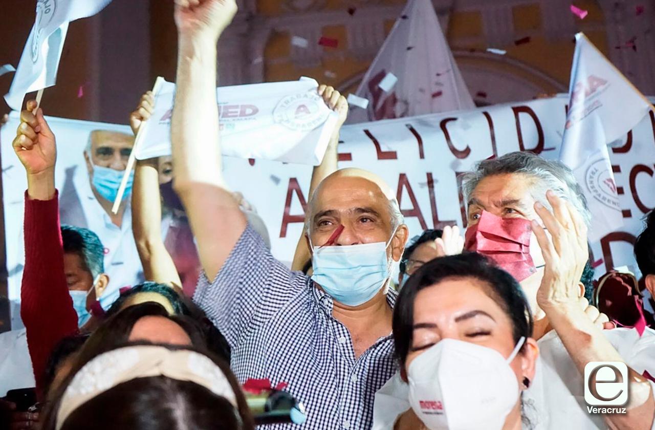 Ahued obtiene la votación más amplia en Veracruz; la mejor en 10 años