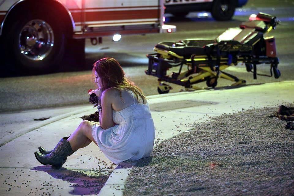 Sobrevivientes cuentan cómo fue el tiroteo de Las Vegas