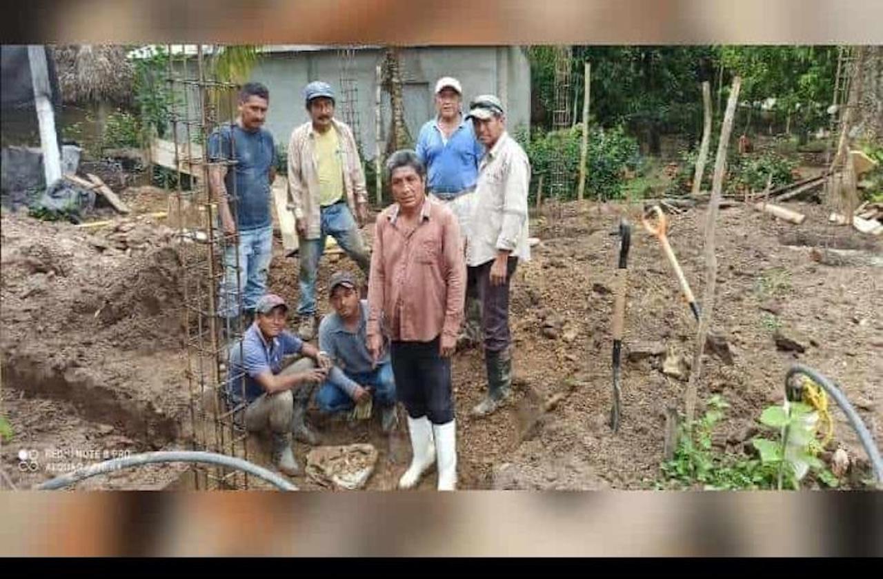 Albañiles hallan sitio arqueológico en Cosoleacaque