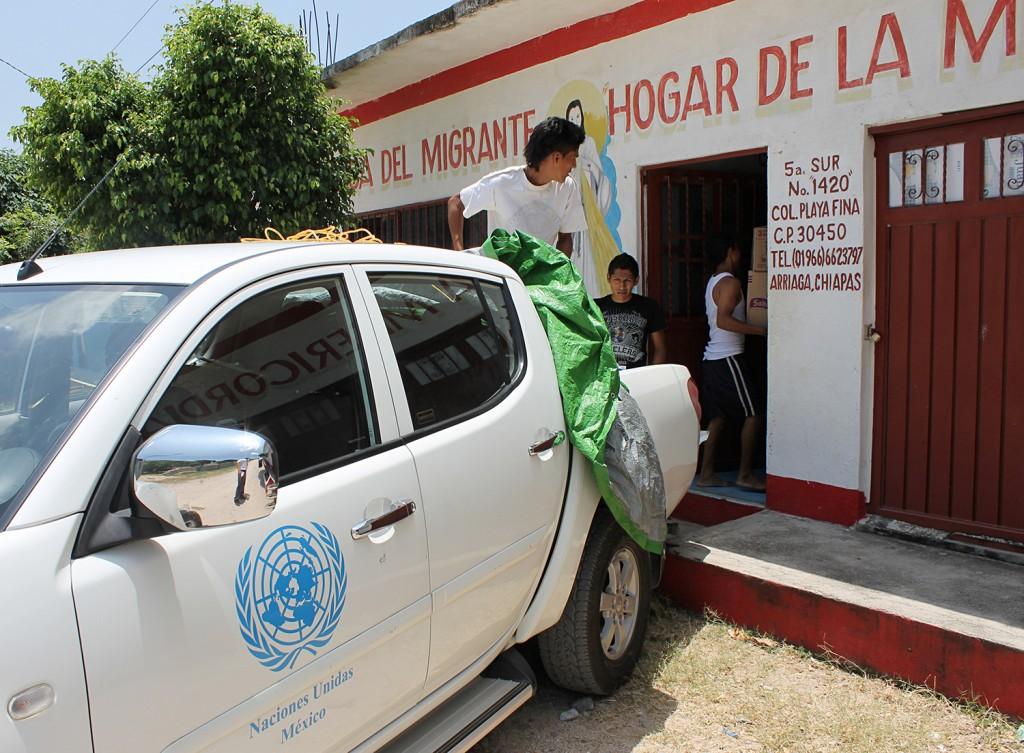 Movimiento Migrante alerta por desabasto de agua en albergue para migrantes